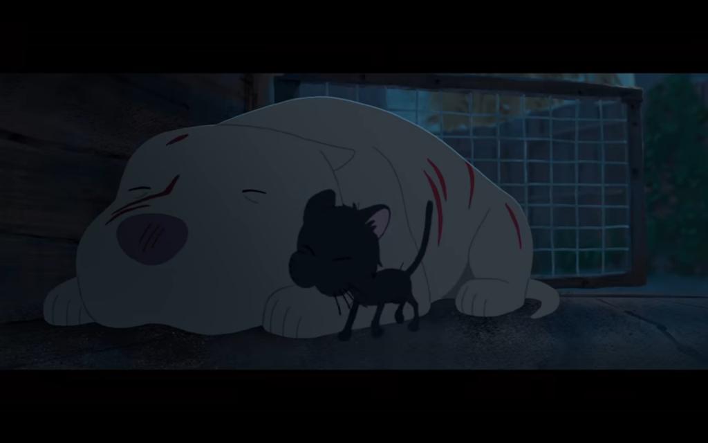Captura de pantalla 2019 02 25 a las 16.10.54 1024x640 - Kitbull, el emotivo corto de Pixar sobre mascotas, que te hará llorar