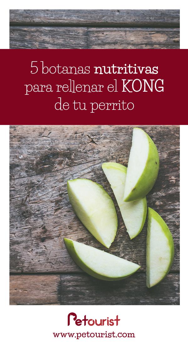 5 botanas kong - 5 botanas nutritivas para rellenar el KONG de tu perrito